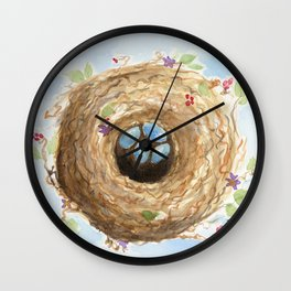 Chubby Nest Wall Clock