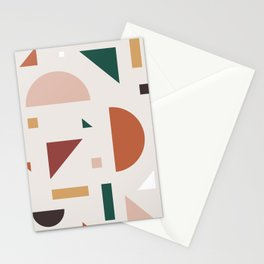 Abstract Geometric 30 Stationery Cards