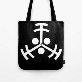 Glifo Vigilantes Negativo Tote Bag