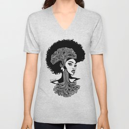 Oakland Queen Unisex V-Neck