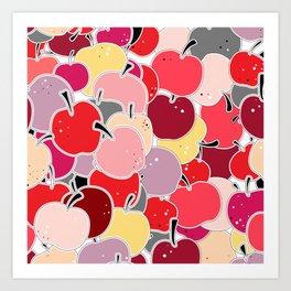 Apple-licious Art Print