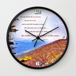 High Places Wall Clock