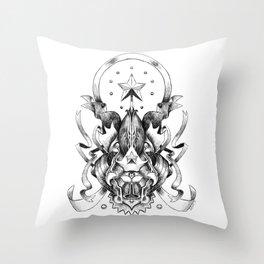 Heraldic Throw Pillow