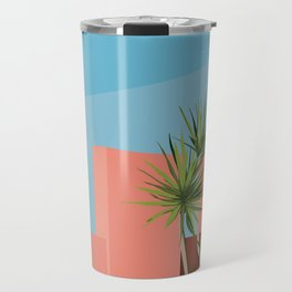 Coral space Travel Mug