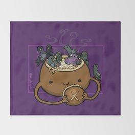 Food Series - Chowder Bread Bowl Throw Blanket