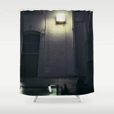pretty lights Shower Curtain