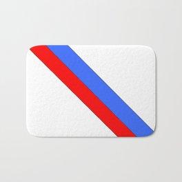 Flag of Haiti 2 -haitan,haitien,port aux princes,cap haitien,carrefour,antilles. Bath Mat