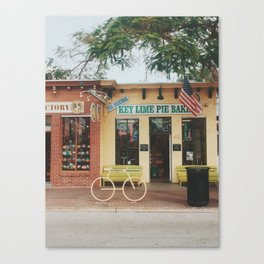 The Original Key Lime Pie Bakery Canvas Print