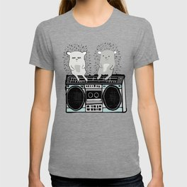Hedgehogs on Boombox T-shirt