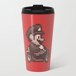 Pixelated Super Mario Kart - Mario Travel Mug