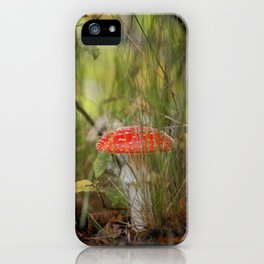 Toadstools like in a fairytale iPhone Case