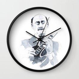 Joe Pass - Jazz Wall Clock