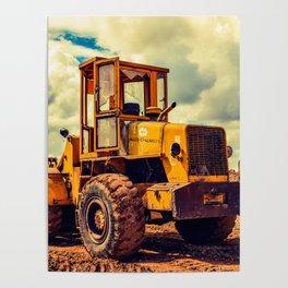 Bulldozer Poster