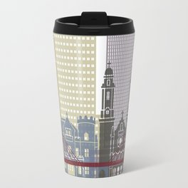Omaha skyline poster Travel Mug