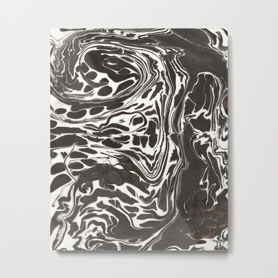Suminagashi 09 Metal Print