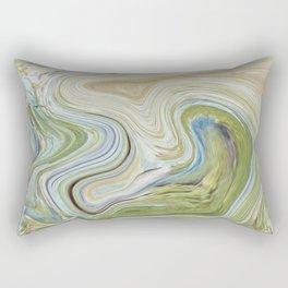 Liquid Earth Rectangular Pillow