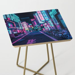 A Neon Wonderland called Tokyo Side Table