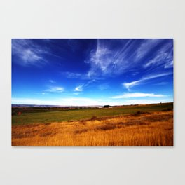 Thall Road in a Parallel Dimension Canvas Print