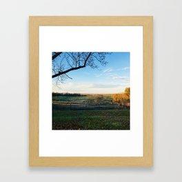 Invigorating Fall Framed Art Print