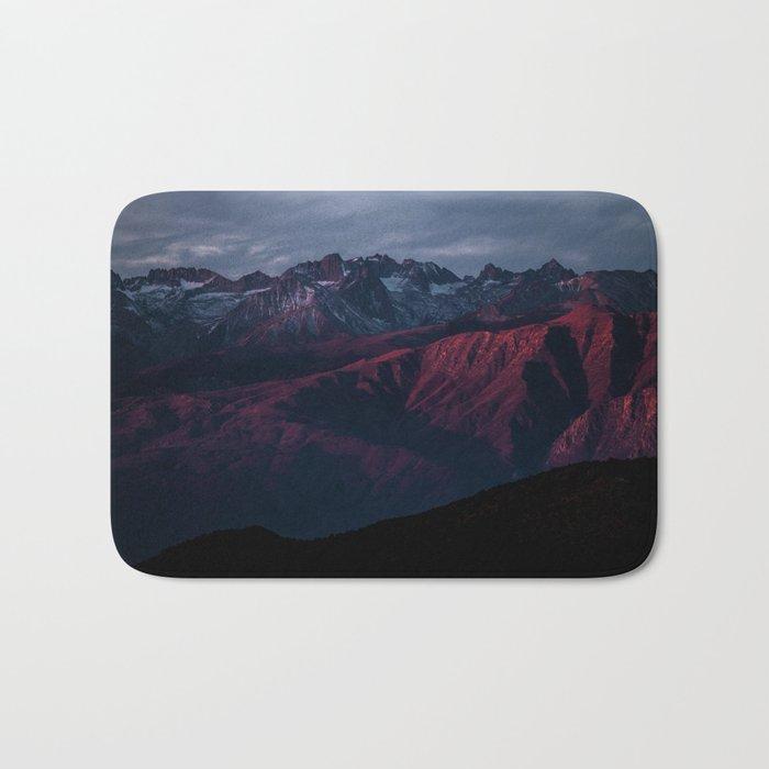 Mountain Landscape #sunset Bath Mat