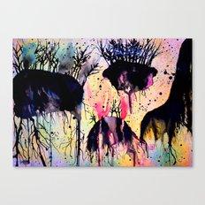 #9 Canvas Print