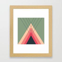 Iglu Rosegreen Framed Art Print