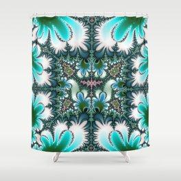 Fractal Rectangle Shower Curtain