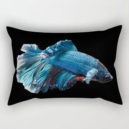 The blue fish Rectangular Pillow