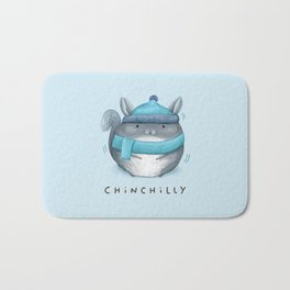 Chinchilly Bath Mat