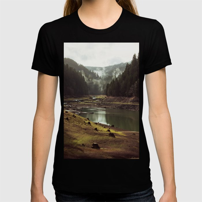 Foggy Forest Creek T-shirt