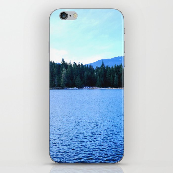 Bluest of blues iPhone Skin