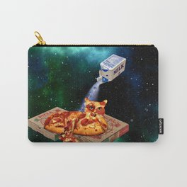 Pepperoni Milky Pizza Space Cat Carry-All Pouch