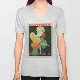 La Loie Fuller Unisex V-Neck