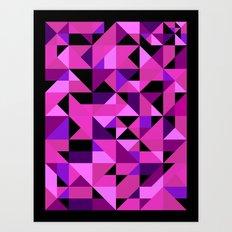Green Machine / Pattern #8 Art Print
