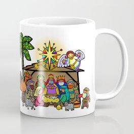 Christmas Nativity Cartoon Doodle Coffee Mug