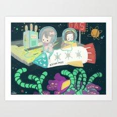 Kuri-prize Art Print