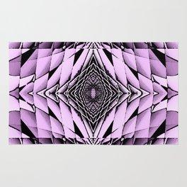 The Purple Diamonte Rug
