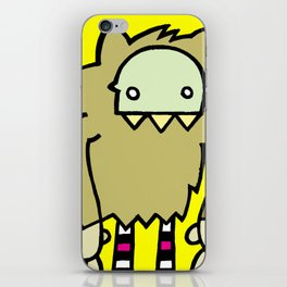 Le Loup-Garou iPhone Skin
