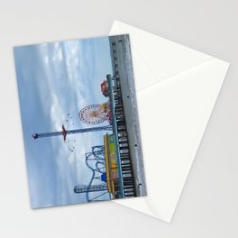 Pleasure Pier - Galveston Texas Stationery Cards