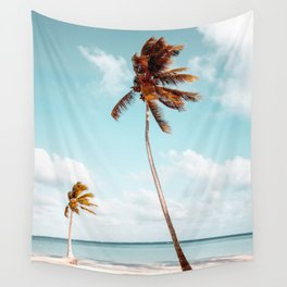 Dominican Republic Palm Beach Wall Tapestry