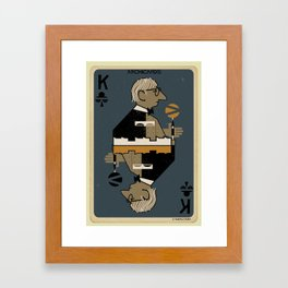 3_Archicard_louis kahn Framed Art Print