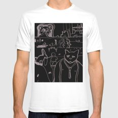 Untitled #10 Mens Fitted Tee White MEDIUM