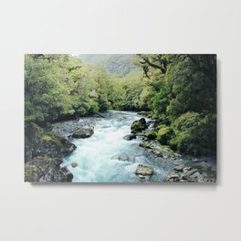 New Zealand river Metal Print