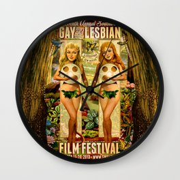 SWGLFF 2013 Eves Wall Clock