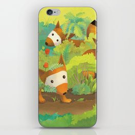 Babies in Bushes iPhone Skin