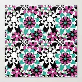Tutti Fiori (pink) Canvas Print