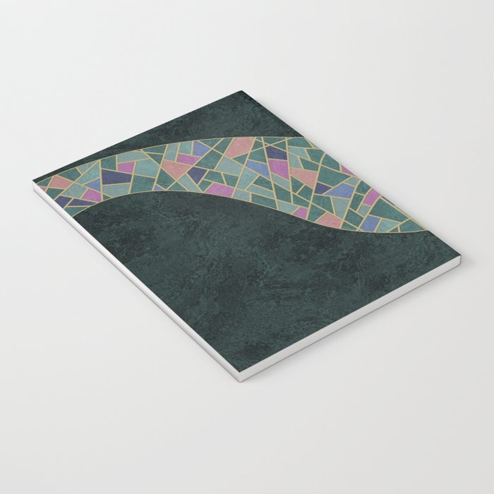Geometric Marble 02 (abstract) Notebook