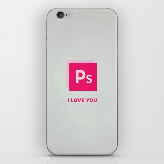 Ps I love you iPhone & iPod Skin