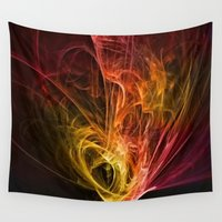 fractal Wall Tapestries featuring Fractal by jbjart