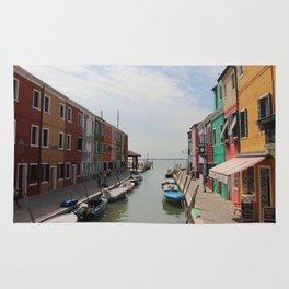 Burano in Venezia Rug